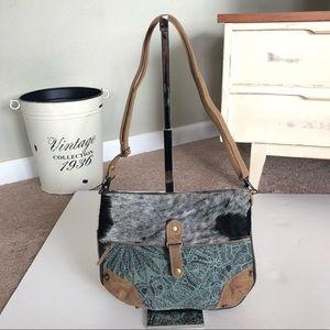 Handbags - Myra bag Hairon small crossbody Canvas Purse 1221